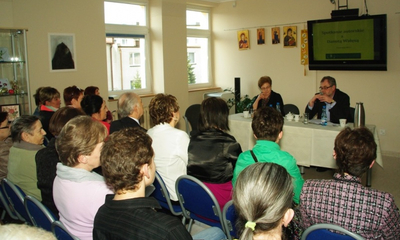 Spotkanie z Danutą Wałęsą w bibliotece - 19.04.2013