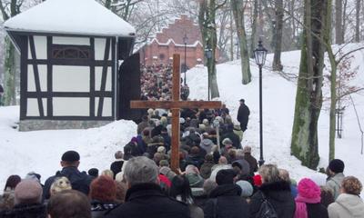 Droga Krzyżowa na Kalwarii Wejherowskiej - 19-02-2010r.