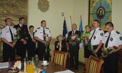 Odznaczenia dla wejherowian podczas sesji Rady Miasta - 09.10.2012