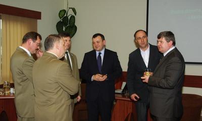 Spotkanie przedsiębiorców i leśników z wiceministrem Środowiska Stanisławem Gawłowskim -31.03.2010