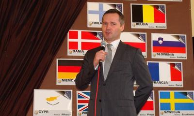 Spotkanie MRM z Jarosławem Wałęsą w Gimn. nr 1 - 01.03.2013