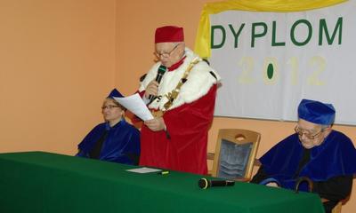 Uroczystość zakończenia studiów na Wydziale Pielęgniarstwa KPSW - 25.10.2012