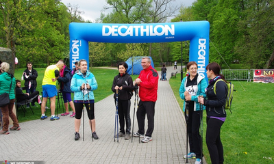 Rajd Nordic Walking w parku - 10.05.2014