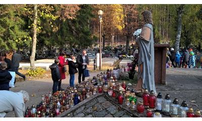Cmentarz przy ul. Roszczynialskiego - 01.11.2015