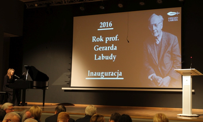 Inauguracja Roku Gerarda Labudy - 12.01.2016