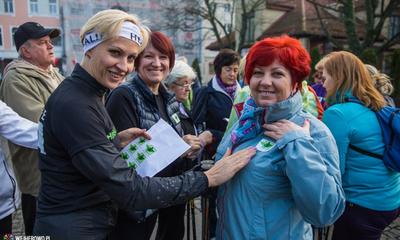 Pierwszy Niepodległościowy marsz Nordic Walking - 11.11.2014