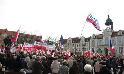 Manifestacja w obronie Telewizji Trwam - 15.04.2012