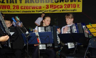 Kaszubskie Warsztaty Akordeonowe w Wejherowie - 2.07.2010