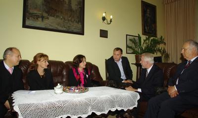 Wizyta Ambasador Peru w Ratuszu - 01.10.2010