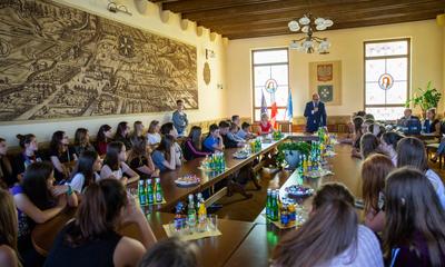 Młodzież z Chełmna z odwiedzinami w Wejherowie