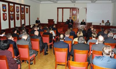Podziękowanie dla m. Wejherowa od Marszałka Województwa - 07.11.2013
