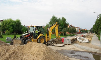 Trwa budowa wielu ulic w Wejherowie - 07.08.2013