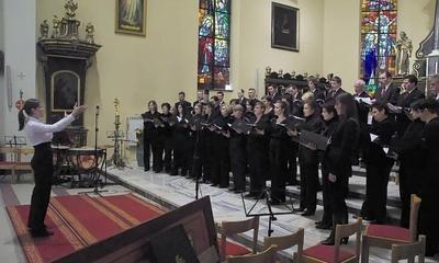 Koncert Cantoresów - egzamin dyrygencki Aleksandry Janus-07.03.2010r