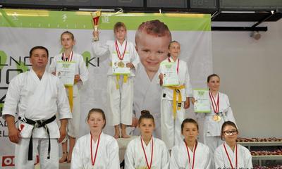 Złoto i srebro dla wejherowskich karateków