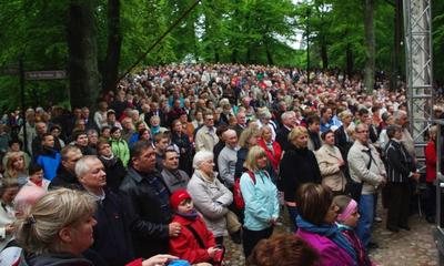 Odpust Trójcy Świętej na Kalwarii Wejherowskiej - 26.05.2013