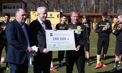 Wejherowo.pl - 200 tys. zł dla Gryfa Wejherowo