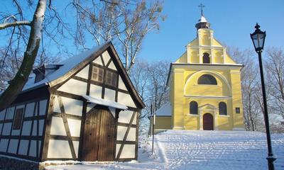 Kalwaria Wejherowska zimą