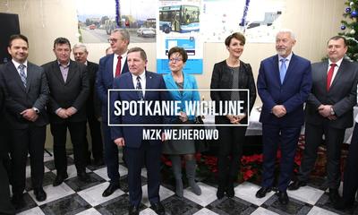 Spotkanie wigilijne MZK Wejherowo