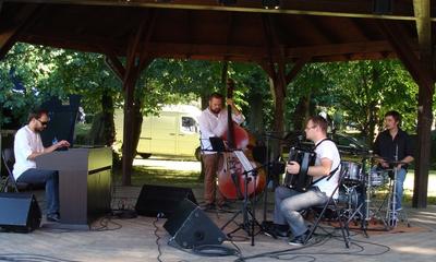 Koncert w parku Almost Jazz Group - 21.07.2013