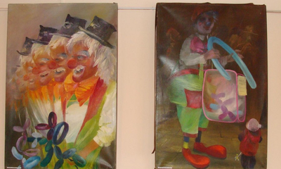 Wystawa w bibliotece Wandy Buraczewskiej i Barbary Skierka - 25.01.2010