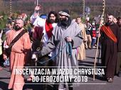Inscenizacja wjazdu Chrystusa do Jerozolimy 2019