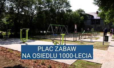 Plac zabaw na osiedlu 1000-lecia (Budżet Obywatelski)
