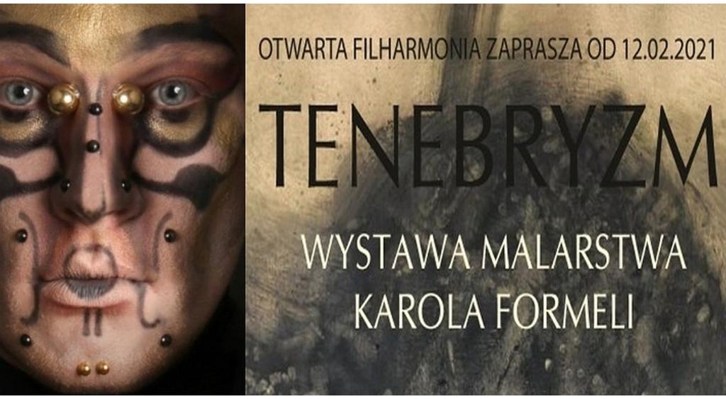 Wystawa Karola Formeli pt. Tenebryzm w Filharmonii Kaszubskiej