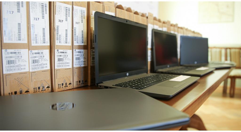 Wejherowo kupiło laptopy dla szkół podstawowych