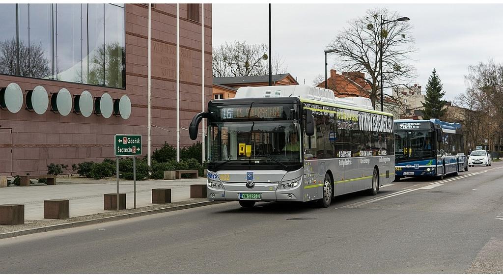 Wejherowo testuje kolejny autobus elektryczny