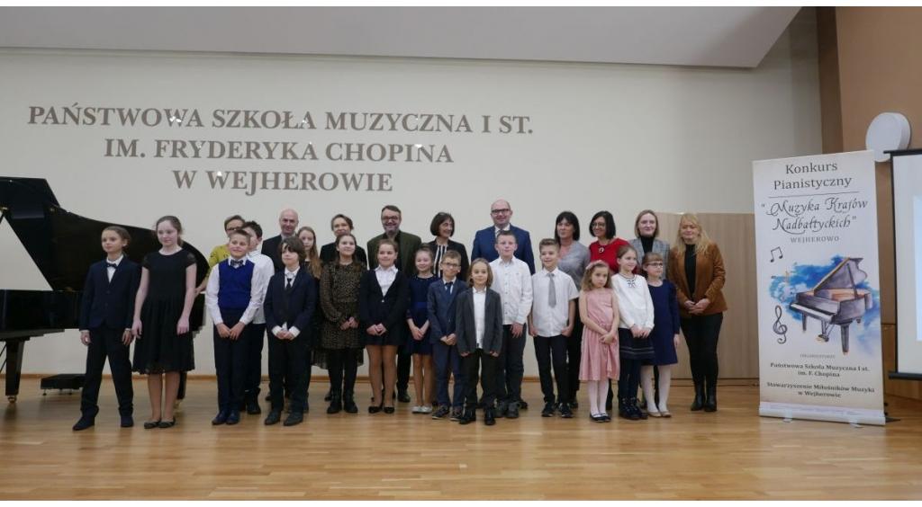 Muzyka krajów nadbałtyckich zabrzmiała w wejherowskiej szkole muzycznej