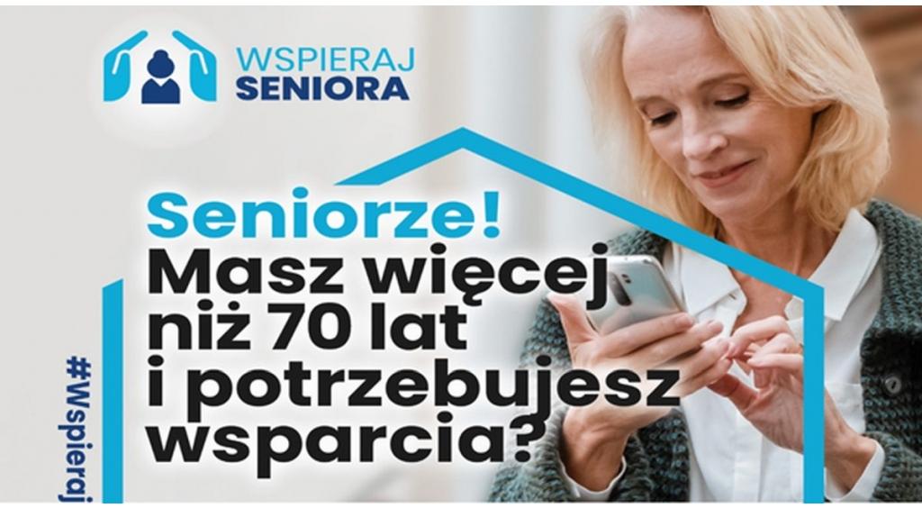 Wejherowski MOPS pomoże seniorom zrobić zakupy