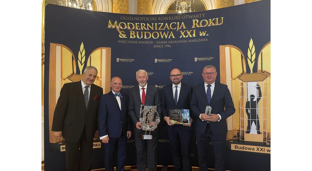 """Wejherowo trzykrotnie nagrodzone w ogólnopolskim konkursie """"Modernizacja Roku & Budowa XXI wieku"""""""