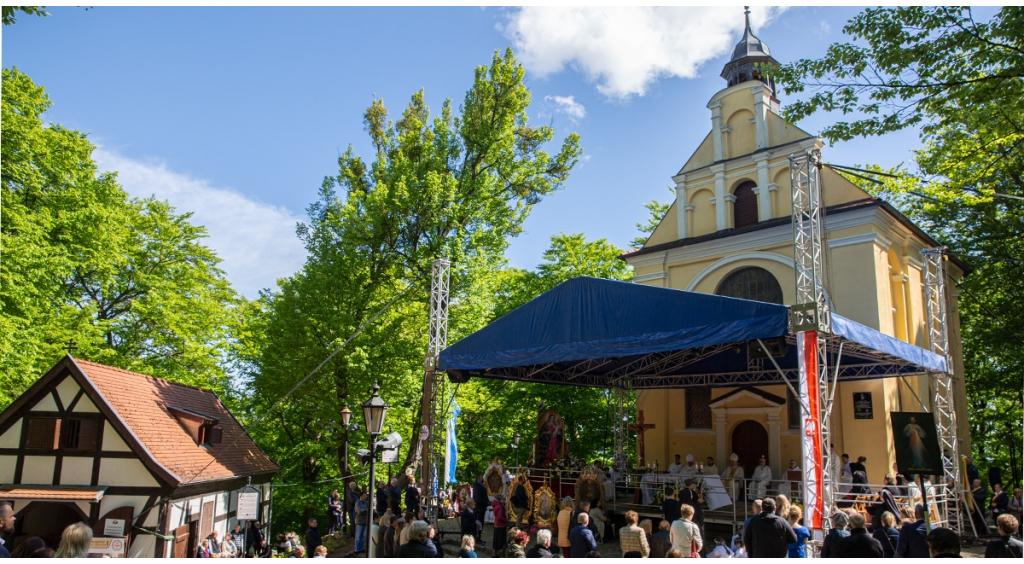 Pielgrzymi przybyli  do Wejherowa