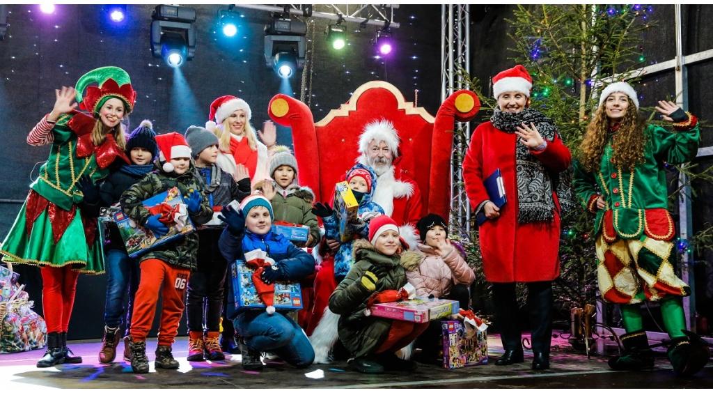 Święty Mikołaj zawitał do Wejherowa