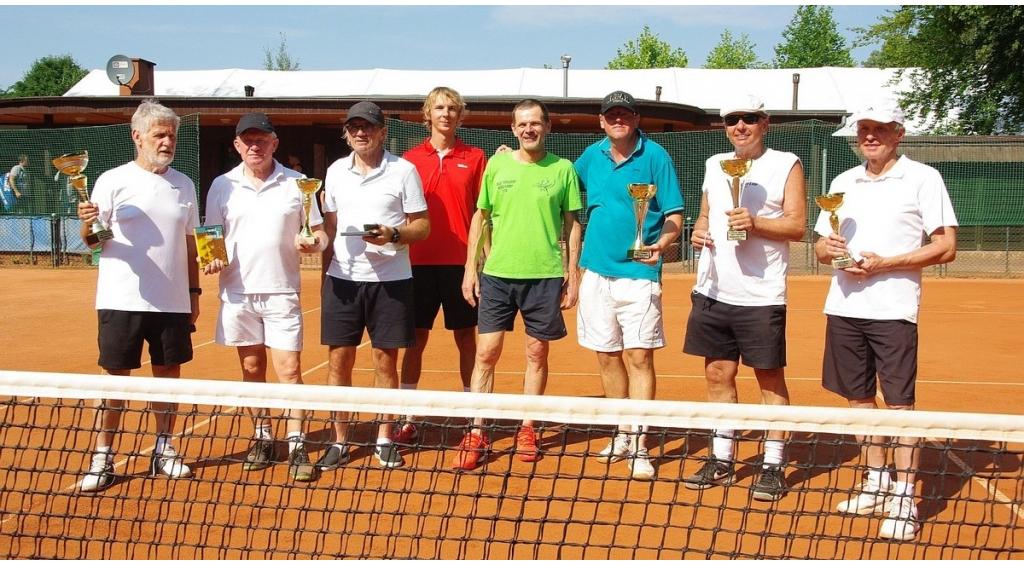 Turniej tenisowy z udziałem Zenona Laskowika