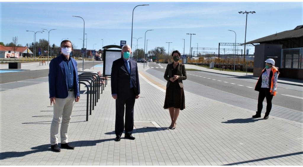 Mieszkańcy mogą korzystać z nowego parkingu przy dworcu PKP