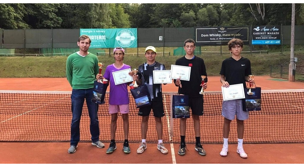 Daria Dehmel i Borys Gryń zwycięzcami Tenisowych Mistrzostw Morskich