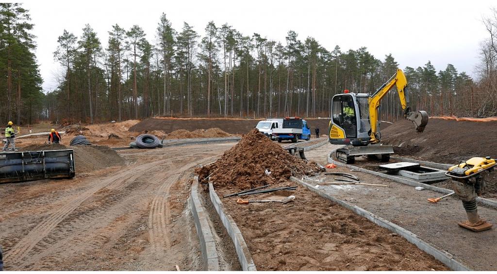 Budowa ronda na ul. Strzeleckiej
