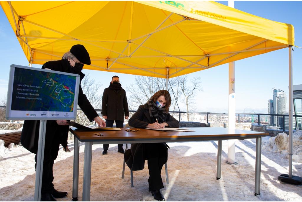Porozumienie w sprawie stworzenia lotniczych map termicznych terenów zabudowanych