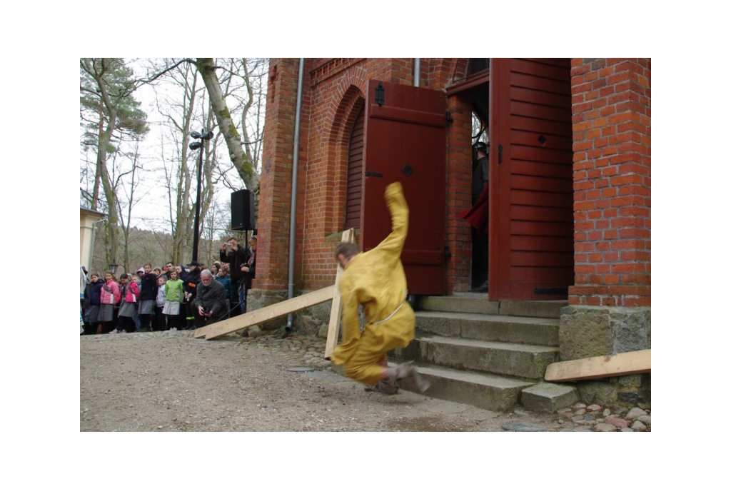Misterium Męki Pańskiej na Kalwarii Wejherowskiej - 01.04.2012