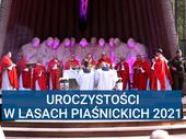 Uroczystości w Lasach Piaśnickich 2021