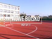 Nowe boisko przy SP nr 11 w Wejherowie (Budżet Obywatelski)