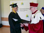 Absolwenci socjologii KPSW otrzymali dyplomy