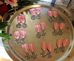 Medale Róży dla Złotych Jubilatów
