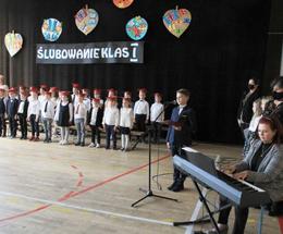 Ślubowanie pierwszoklasistów w Szkole Podstawowej nr 9