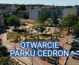 Otwarcie parku Cedron w Wejherowie