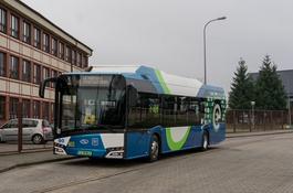 Elektryczny Solaris na testach w MZK Wejherowo
