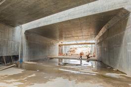 Przebicie tunelu na Węźle Wejherowo-Kwiatowa