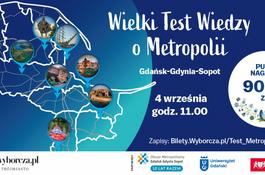 Wielki Test Wiedzy o Metropolii - sprawdź się i wygraj 5 tys. zł