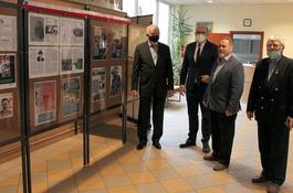 Zbrodnia katyńska tematem wystawy Wejherowskiej Wspólnoty Pokoleń